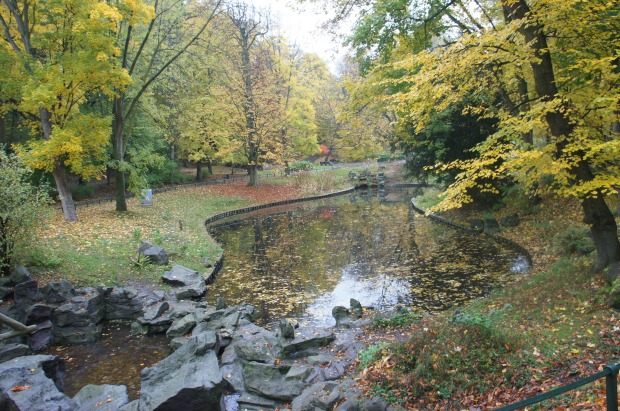 Josaphat Park in Schaerbeek