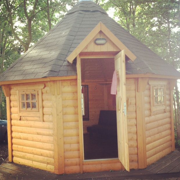 cabin yurt camping glamping