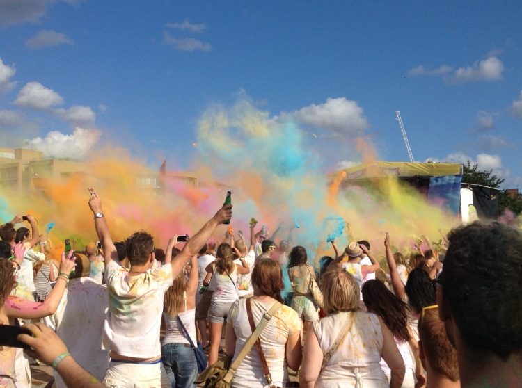Holi One Festival London Battersea