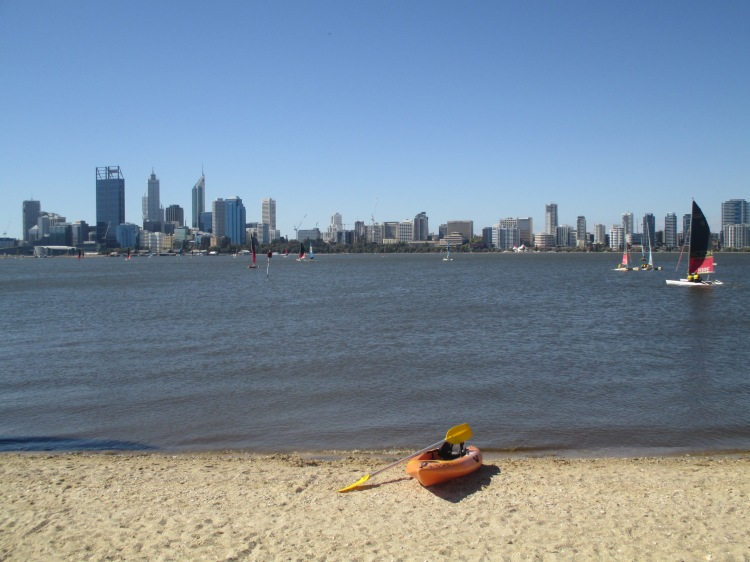 Kayak or sail on The Swan River