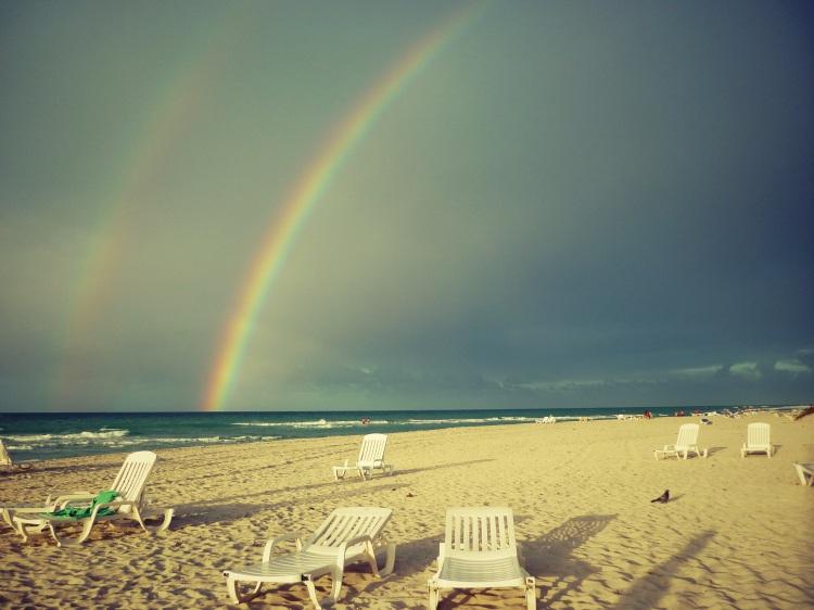 Varadero rainbow Cuba pretty