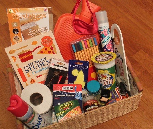 Survival Box For Students Going To University The