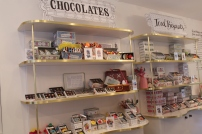 Chocolates at Biscuiteers