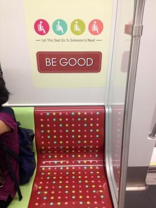 singapore mrt train sign priority seat