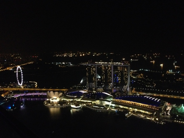 1altitude bar singapore view