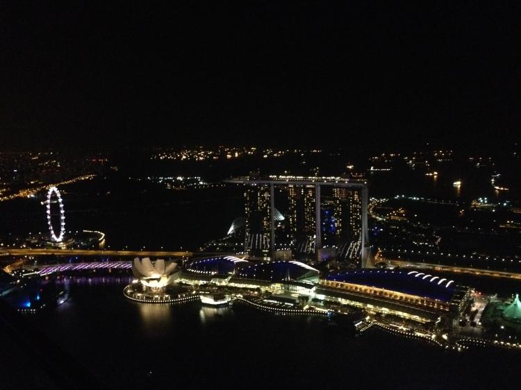1altitude bar singapore view