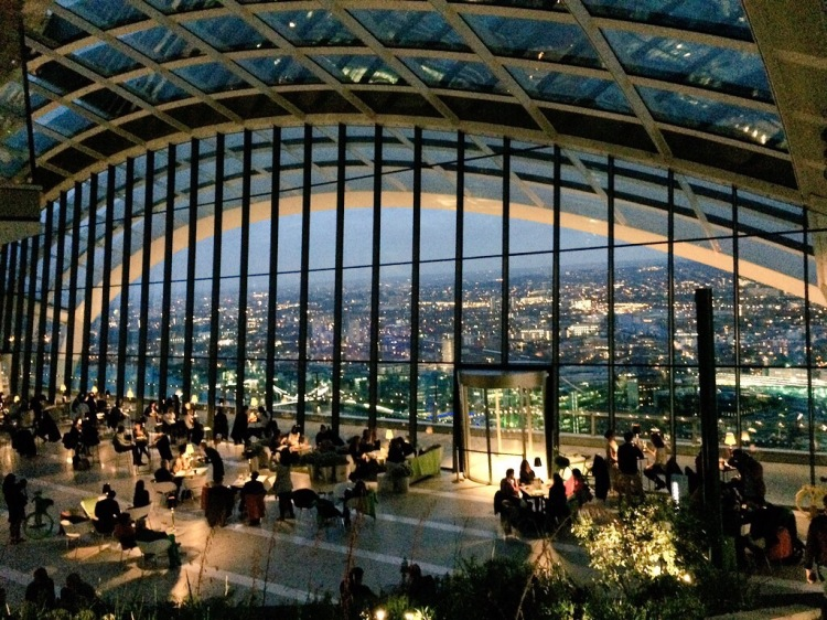 sky garden walkie talkie fenchurch street