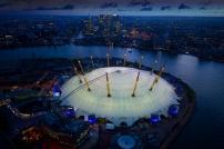 o2 arena, millennium dome climb