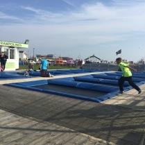 trampolining hastings