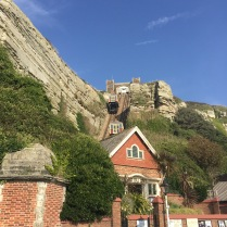 funicular railway west hill cliff hastings