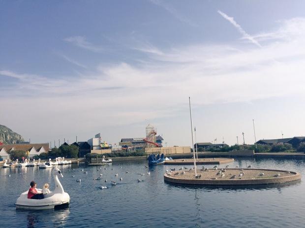 hastings seafront promenade