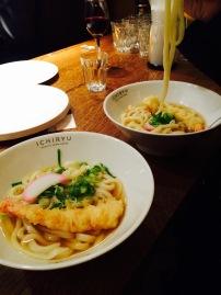 ichiryu noodle prawn tempura