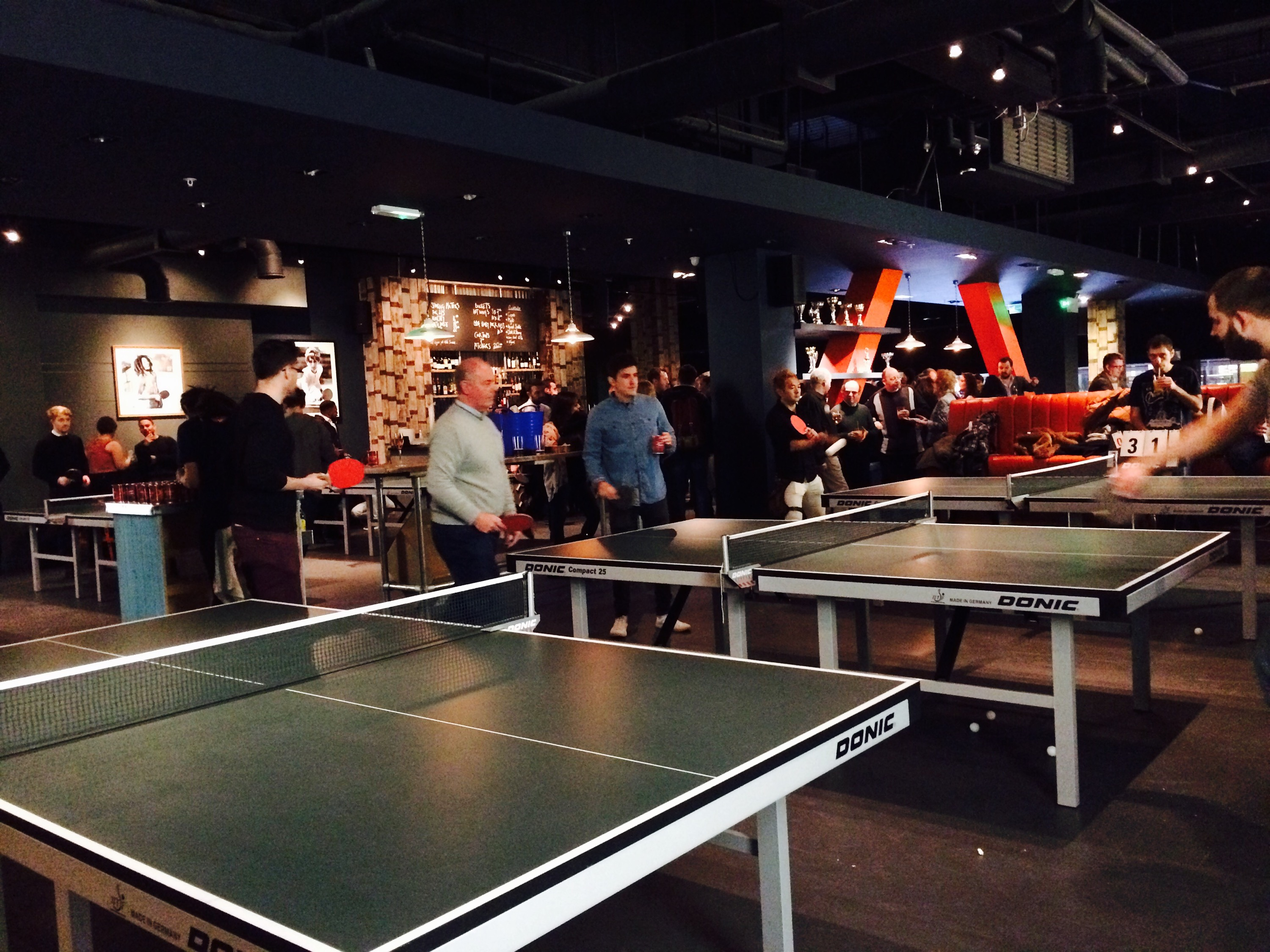 the bat and ball bar westfield stratford ping pong