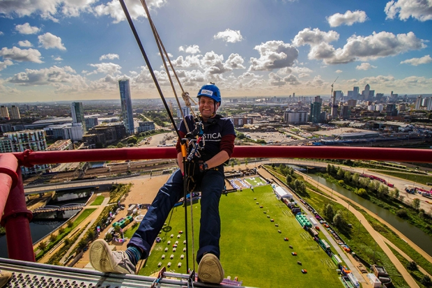 abseil--mittal-orbit-stratford-london