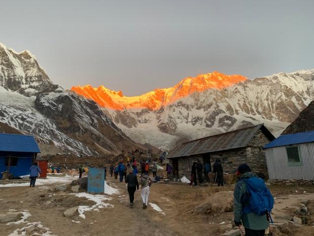 sunrise-annapurna-base-camp