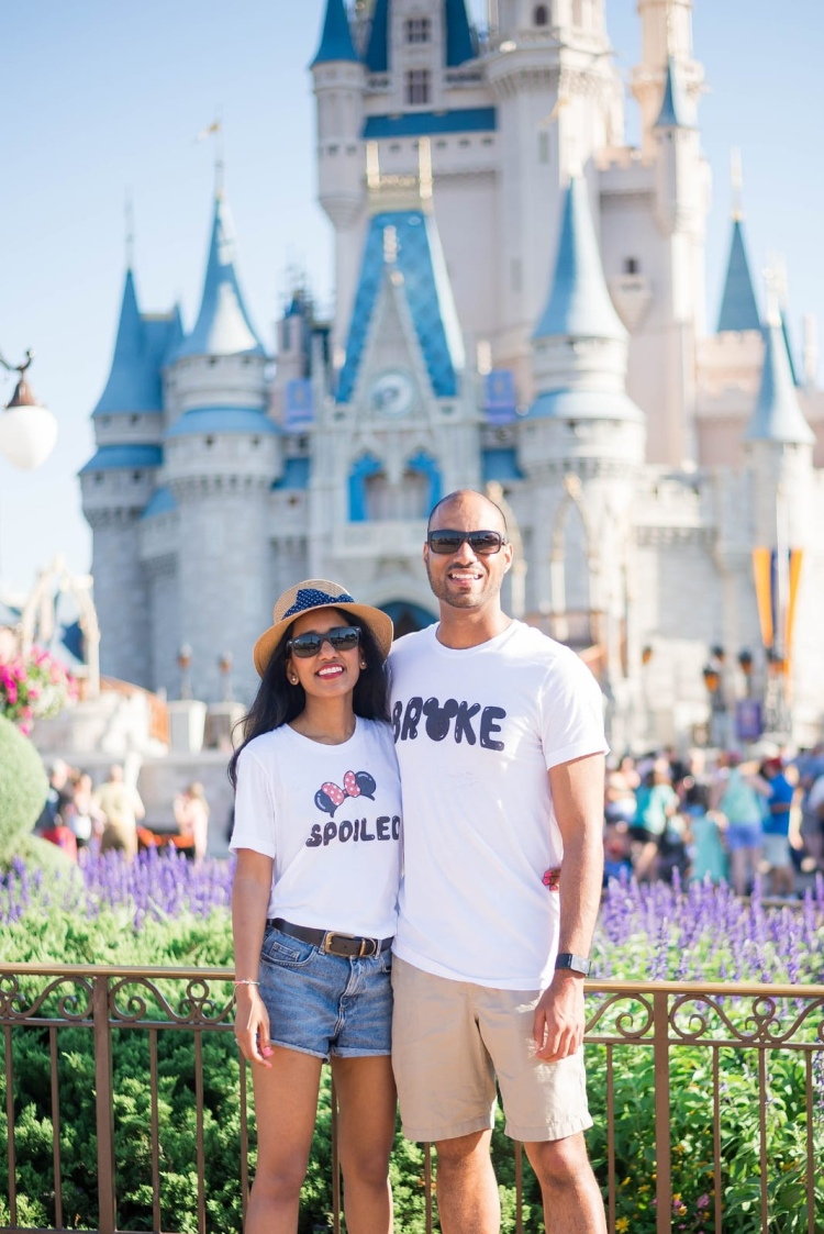 broke and spoiled matching disney t shirts orlando
