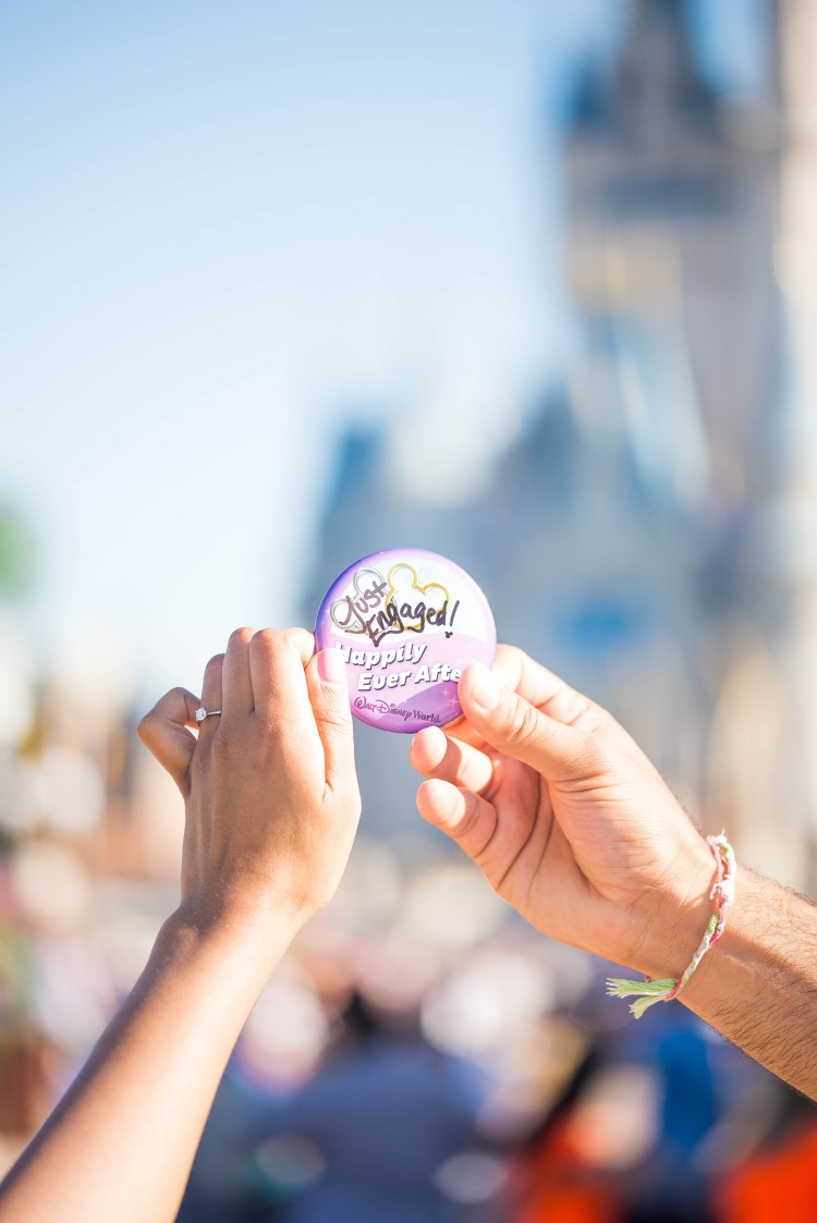 happily ever after badge at disneyworld