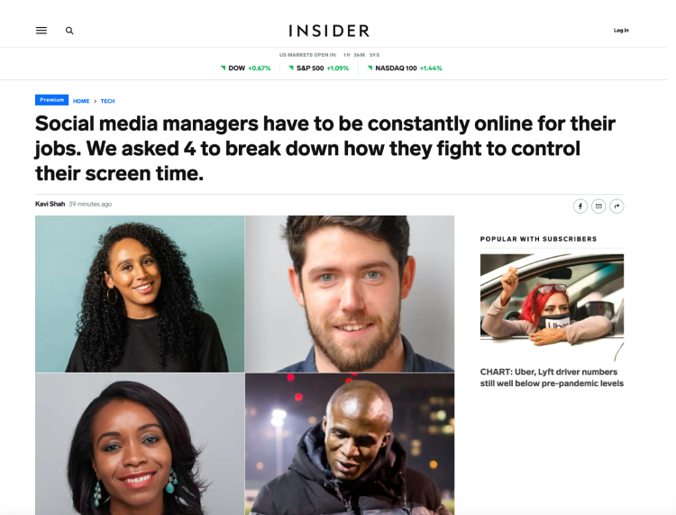 BUSINESS INSIDER SCREEN TIME